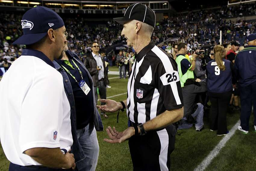 Southern California banker Lance Easley made the call that gave Seattle a controversial win over Green Bay.