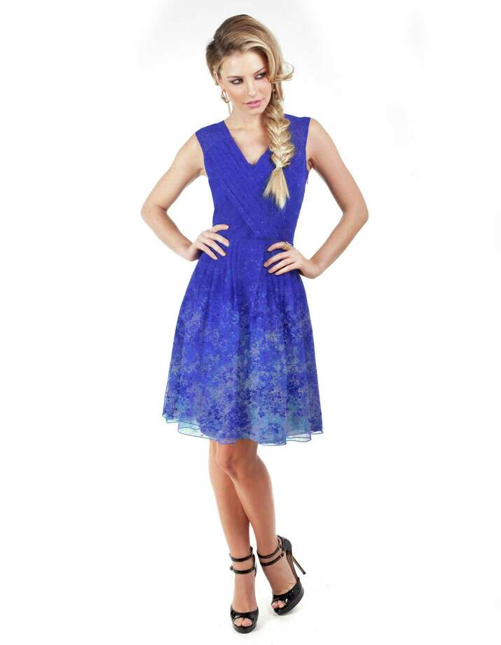 fashion: The Cenia dress, $129, by designer Cenia Paredes is available at Macy's. Photo: Macy's