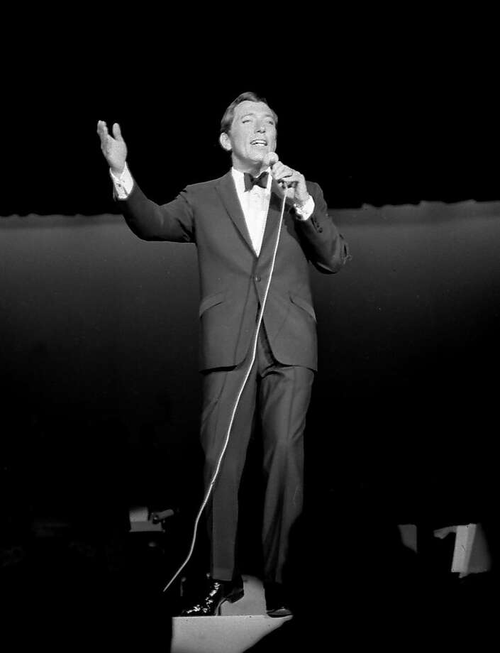 "Andy Williams, famed for ""Moon River"" and his popular Christmas shows, died at his Branson, Mo., home. Photo: Associated Press"