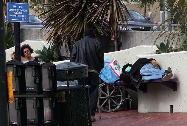 Harvey Milk Plaza: refuge for transients - SFGate