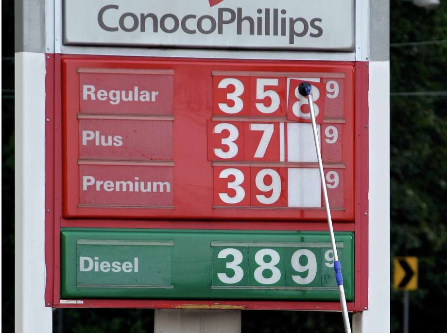 The prices are changed this week at a gas station in Little Rock, Ark. The national average was $3.81 a gallon on Wednesday. Photo: Danny Johnston / AP