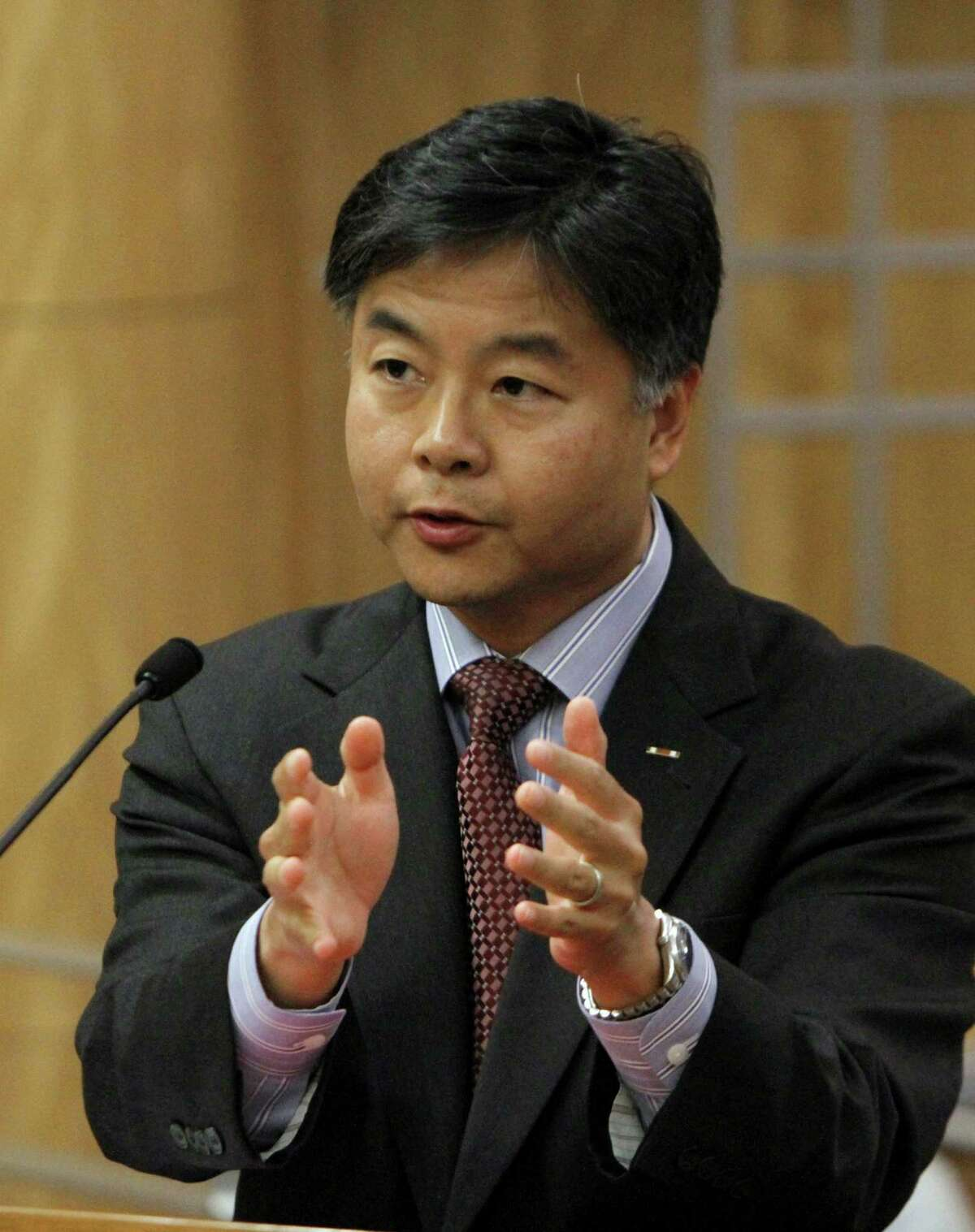 Rep. Ted Lieu says backdoors in software are stupid.
