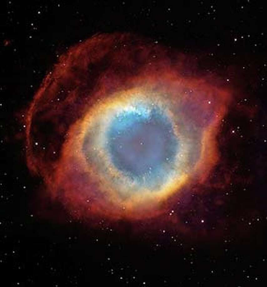 The Helix Nebula, NGC 7293, only 650 light years away.