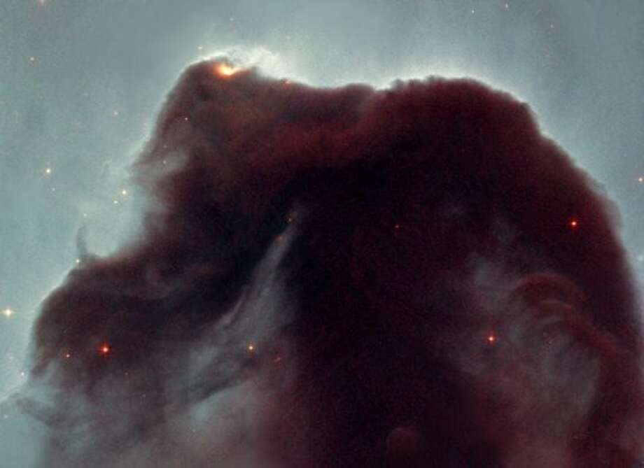 The famous Horsehead Nebula, which resides in the constellation Orion.