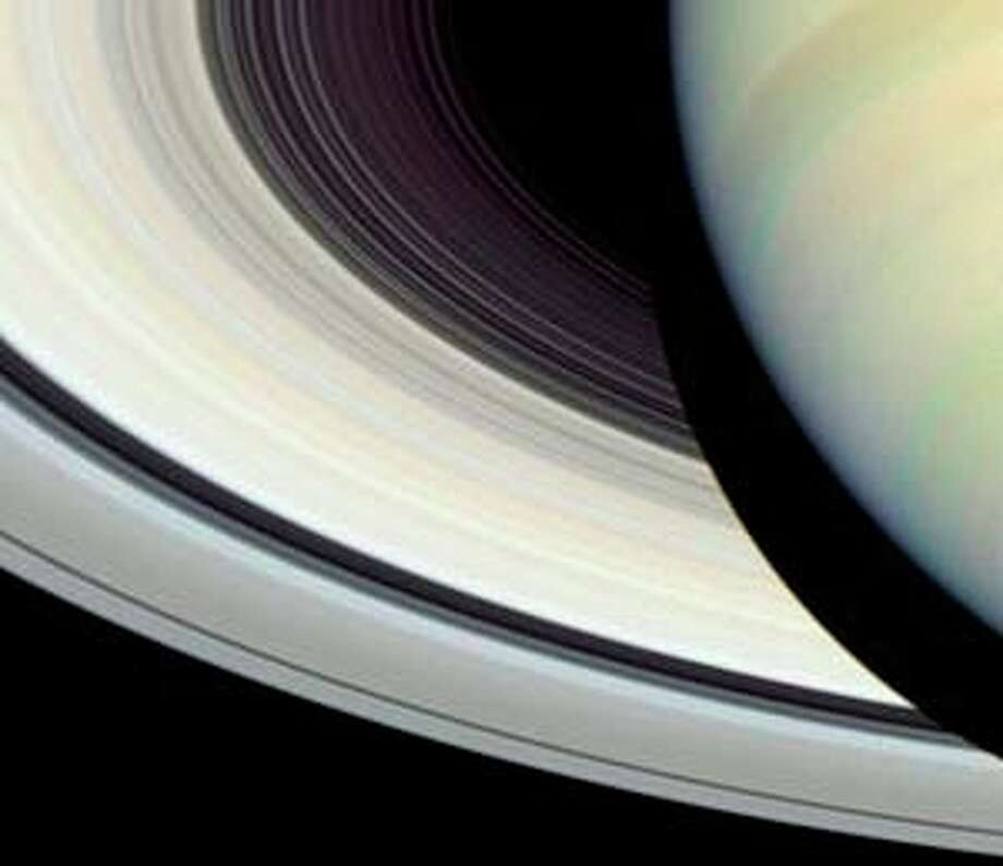 Saturn's amazing rings.