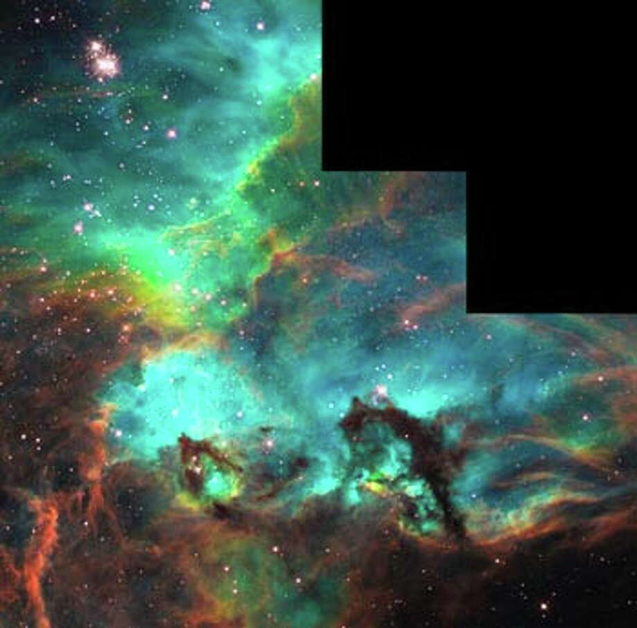 This image is from a portion of the Large Magellanic Cloud, about 175,000 light years from Earth.