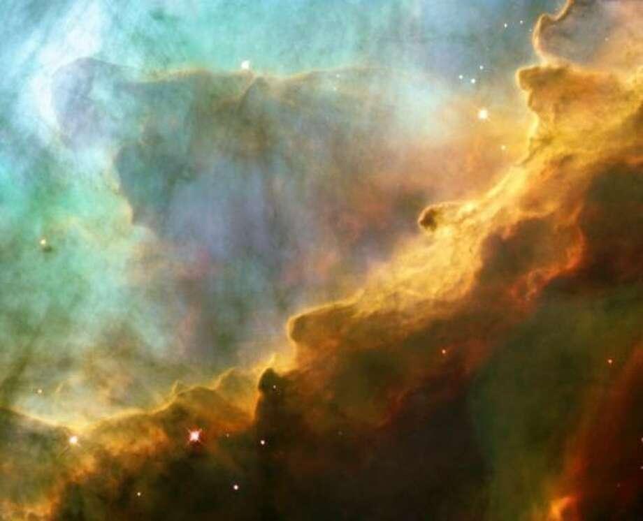 The Omega Nebula, 5,500 light years away.