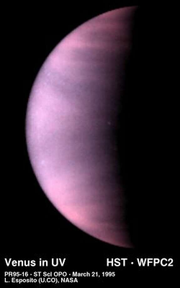 Venus in ultraviolet light, from 1995.