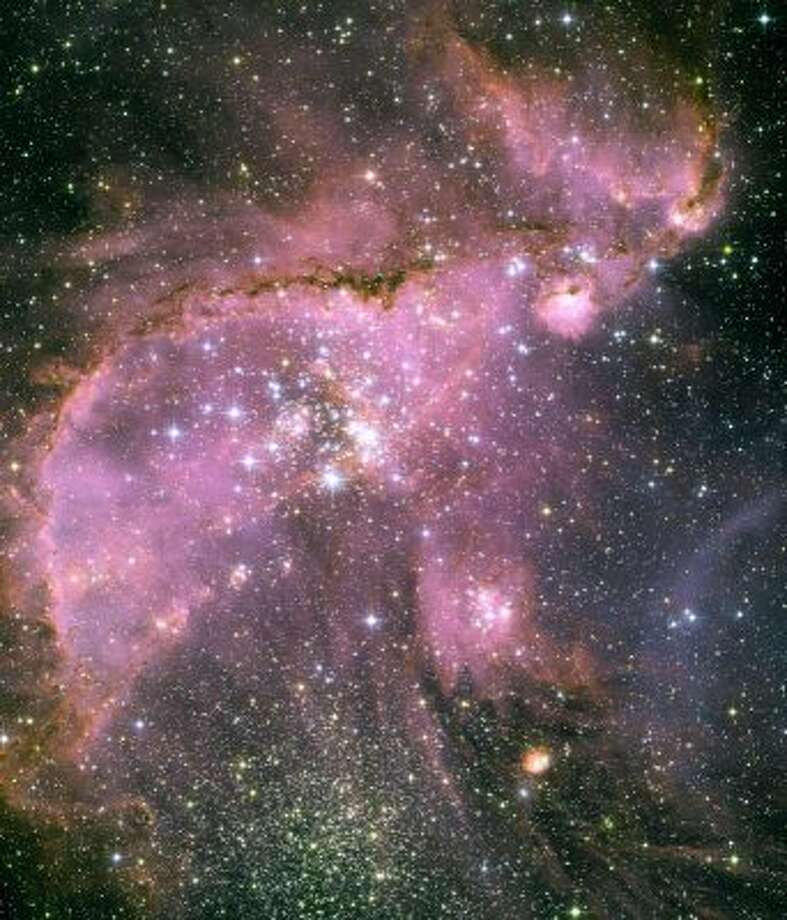 The Small Magellanic Cloud, about 210,000 light years from Earth.