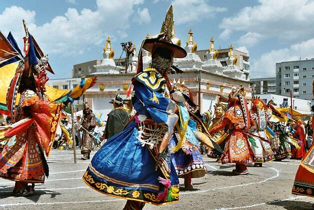 "Watching folk dance performances in Mongolia's capital of Ulaan Baatar is on the itinerary of the MIR Corp.'s ""Lands of the Last Nomads"" tour. Photo: Courtesy MIR Corp."