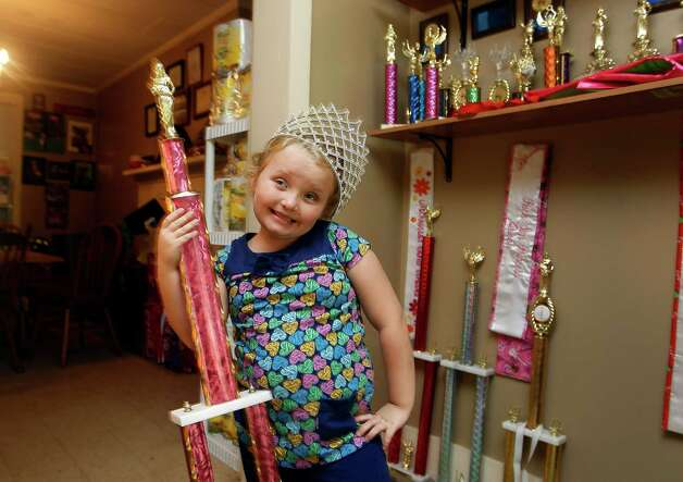 Seven-year-old beauty queen and reality  show star Alana Thompson.