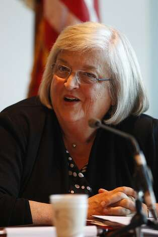 "Pamila Fisher, former interim chancellor: ""A long way to go, but we're light-years ahead."" Photo: Stephen Lam, Special To The Chronicle"