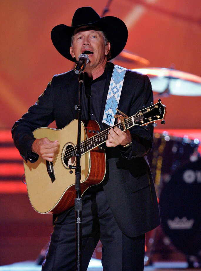 George Strait performs during the 42nd Annual Academy of Country Music Awards on Tuesday, May 15, 2007, in Las Vegas. Photo: Mark J. Terrill, AP / AP