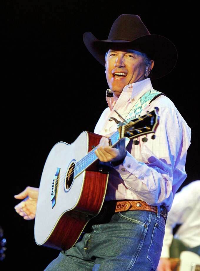 Musician George Strait performs onstage during the Stagecoach Music Festival held at the Empire Polo Field on May 5, 2007 in Indio, California. Photo: Kevin Winter, Getty Images / 2007 Getty Images