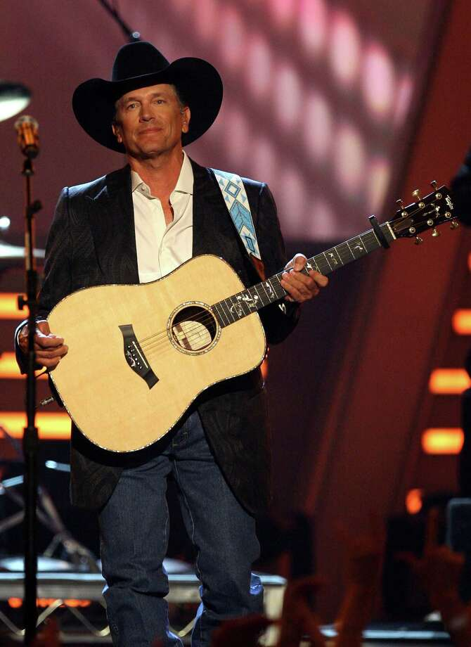 Musician George Strait performs onstage during the 43rd annual Academy Of Country Music Awards held at the MGM Grand Garden Arena on May 18, 2008 in Las Vegas, Nevada. Photo: Ethan Miller, Getty Images / 2008 Getty Images