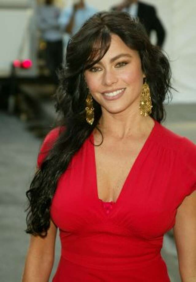 Back in 2005, with darker hair. In interviews, Vergara has said she's a natural blonde, but has dyed it brown for roles in which she's portraying a hot Latina.  (Getty Images)
