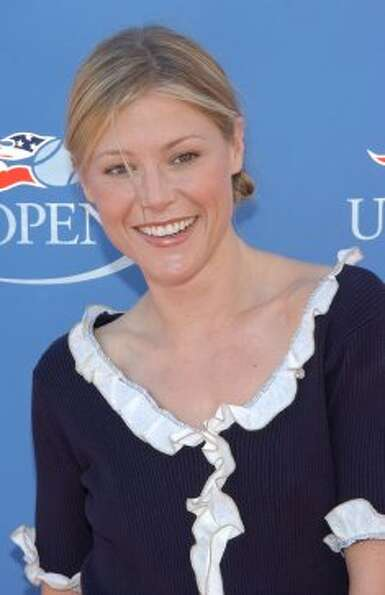 Julie Bowen in 2002, during a   US Open party.  (Getty Images)