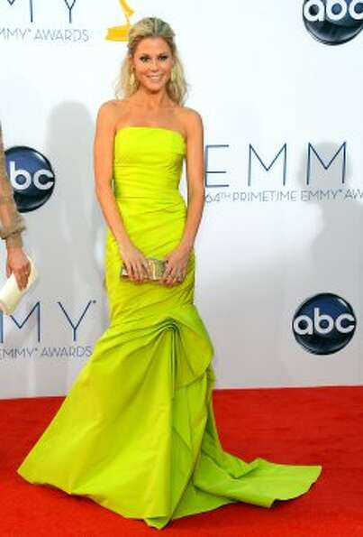 Julie Bowen, 42, at the Emmys awards on Sept. 23, 2012, where she won an acting honor for her work i