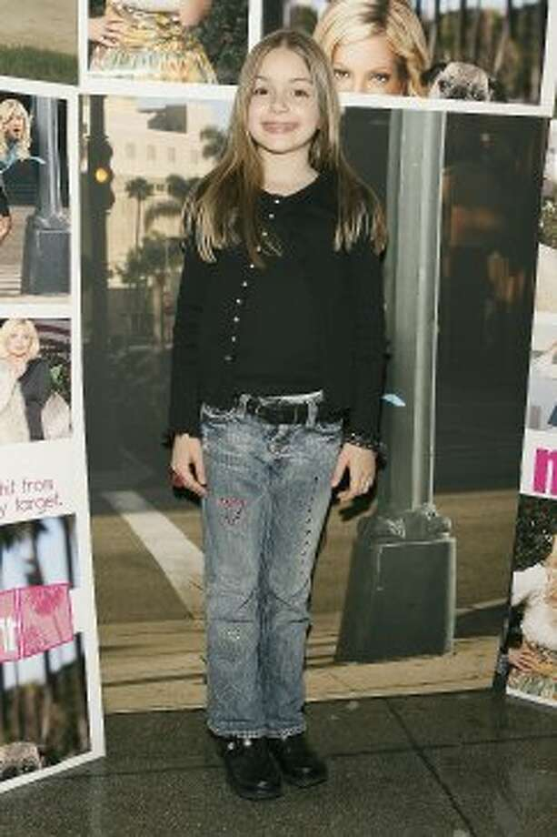"Before Ariel Winter became brainy Alex Dunphy, she played ""young Tori"" in 'So NoTORIous,"" a sitcom loosely based on Tori Spelling. She's pictured at a 2006 screening party for the show."