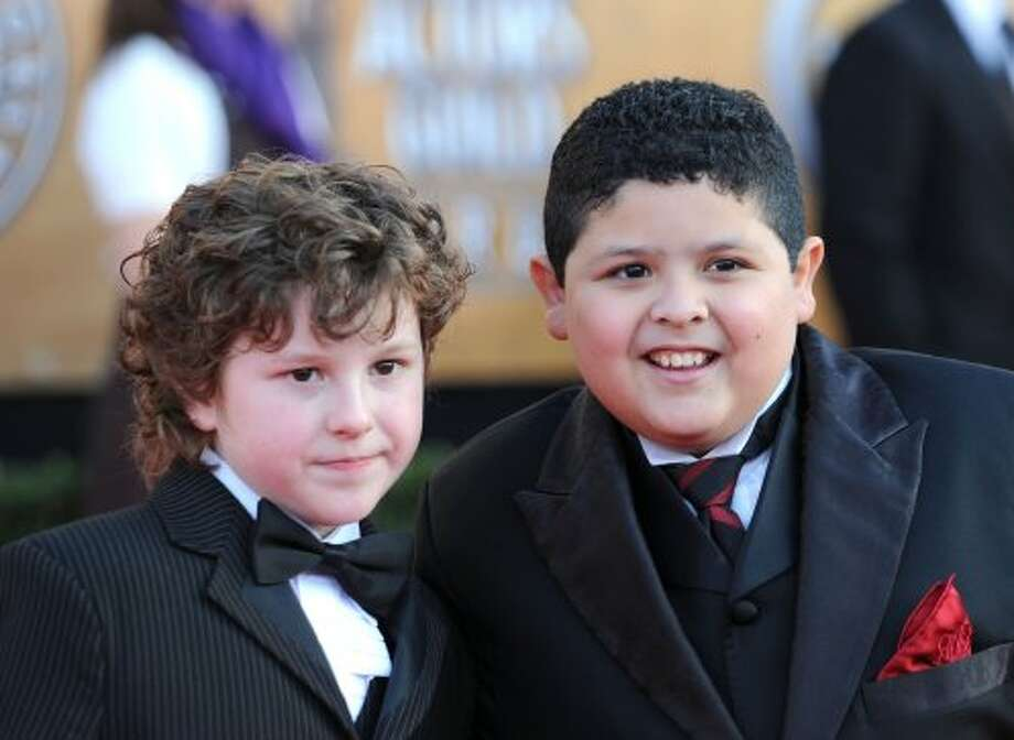 Nolan Gould (L) and Rico Rodriguez at the Screen Actors Guild Awards in 2010.  (Frazer Harrison / Getty Images)