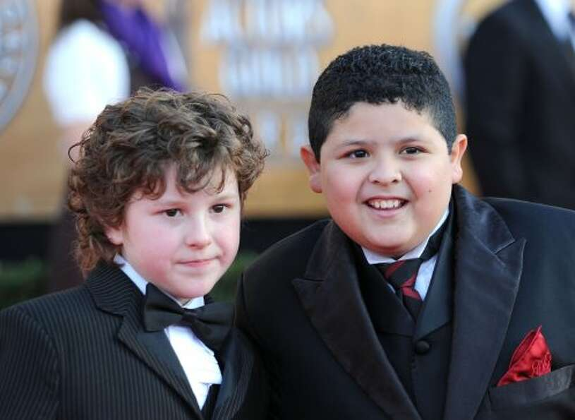 Nolan Gould (L) and Rico Rodriguez at the Screen Actors Guild Awards in 2010.  (Frazer Harrison / Ge