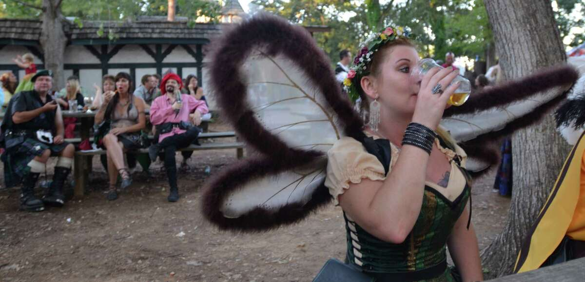 The Sea Devil Tavern is our favorite place to eat, drink and fairy-watch the day away at the Texas Renaissance Festival. Beth Rankin/cat5