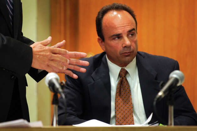 Former Bridgeport Mayor Joseph Ganim in Superior Court, in Bridgeport, Conn. Sept. 11th, 2012. Ganim appeared in front of a three judge panel Tuesday in his effort to regain his law license. He was convicted in 2003 of federal corruption, and served seven years of a nine year sentence. Photo: Ned Gerard / Connecticut Post