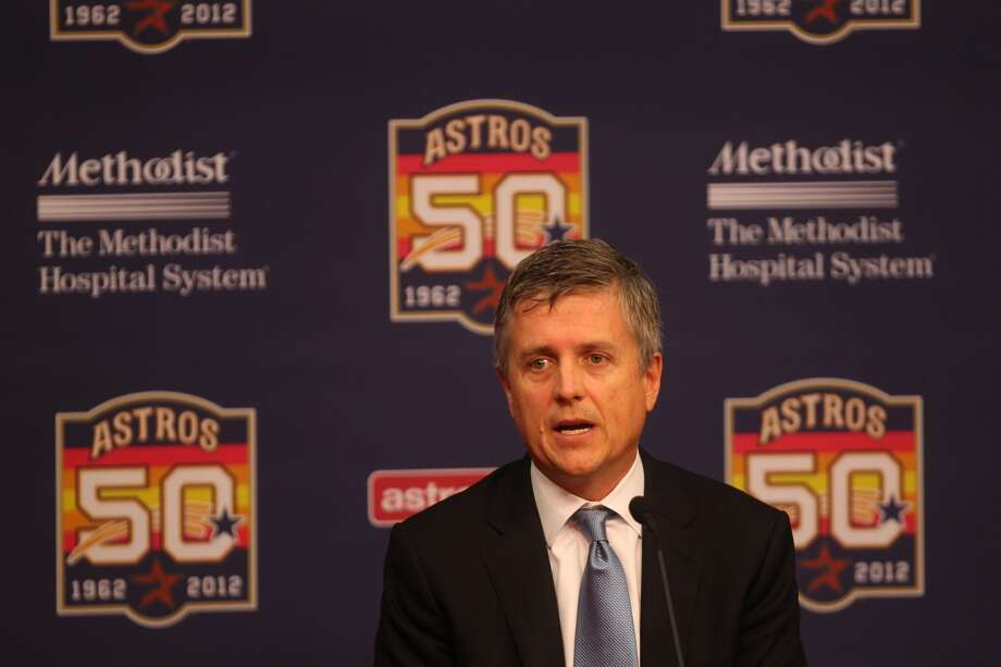 Astros General Manager Jeff Lunhow. Photo: Johnny Hanson, Houston Chronicle
