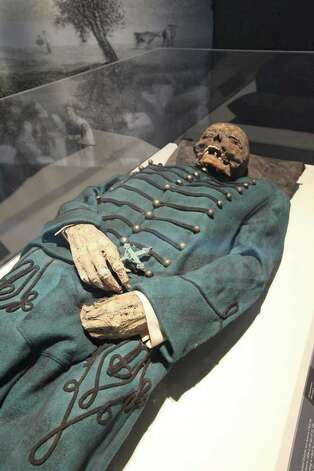One of the goals of the exhibition is to demystify mummies. Photo: Courtesy, American Exhibitions Inc. / Mathew Imaging