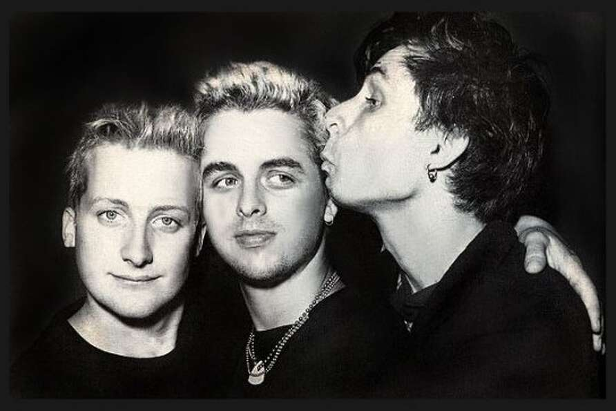 Green Day, 1990: Mike Dirnt, Billie Joe Armstrong and Tre Cool. They looked like such nice young men