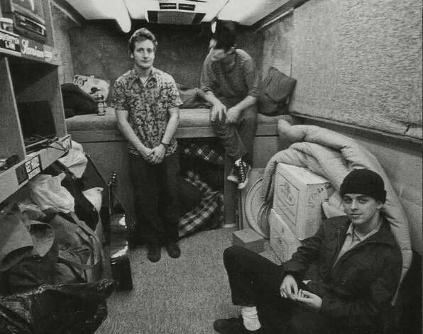 Green Day, 1992: Inside the rehearsal studio/padded cell.