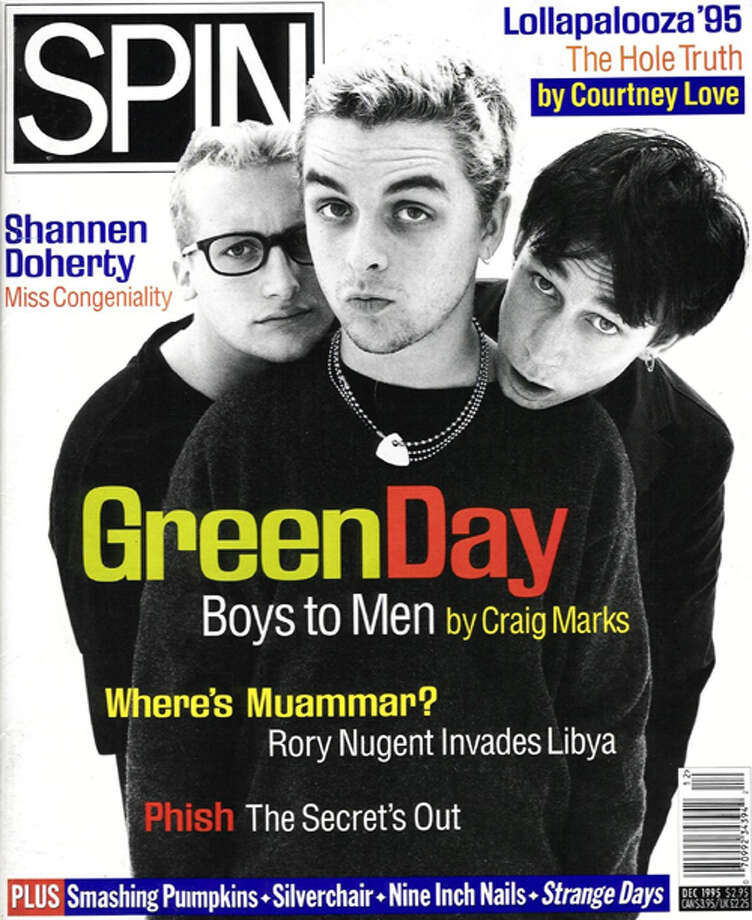 Green Day, 1995: The real triumph was beating out Shannen Doherty for the cover of SPIN.
