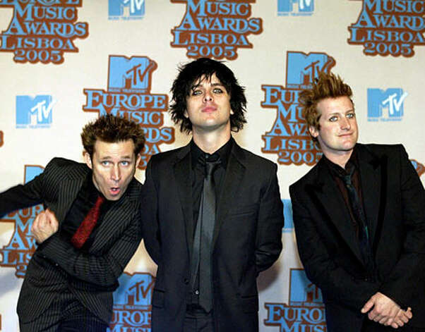 Green Day, 2005: The band travels the world scooping up awards.