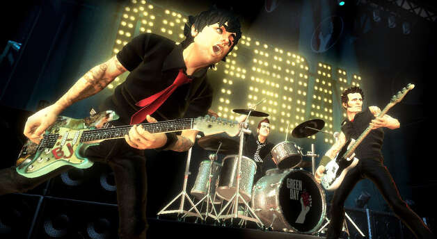 Green Day, 2010: Going digital for the 'Rock Band' video game.