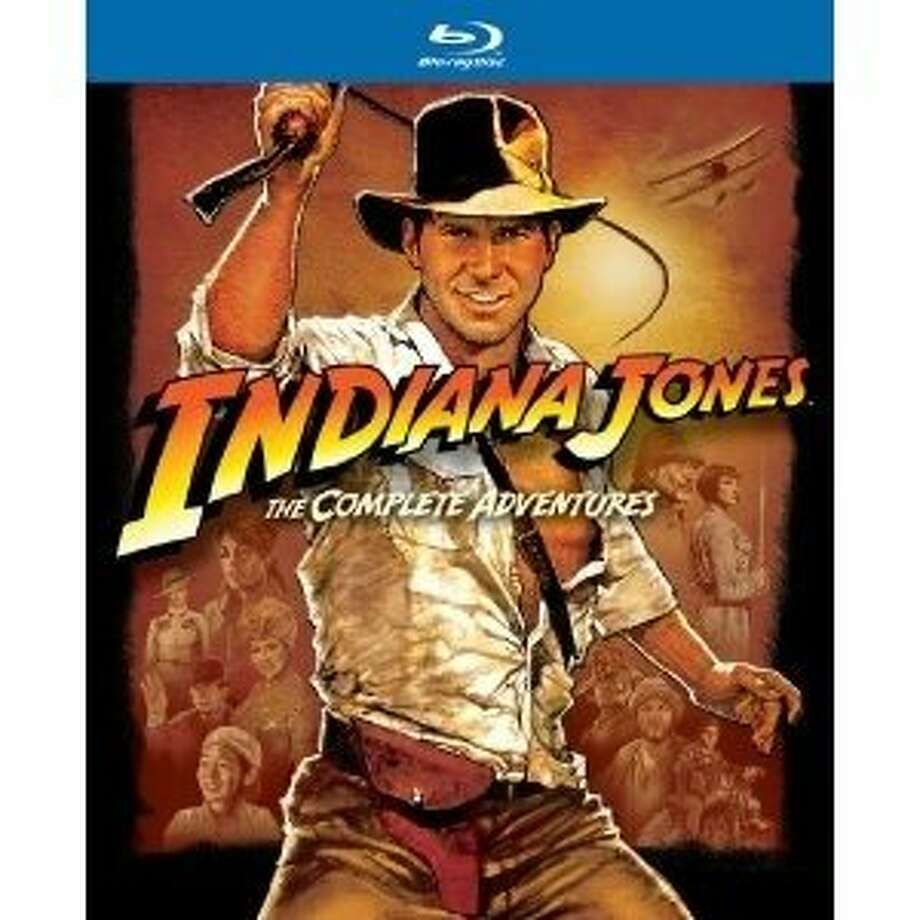"Blu-ray cover: ""Indiana Jones: The Complete Adventures"" Photo: Paramount"