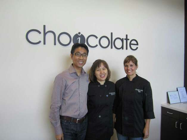Young Yang, Jamie Choi and Beth Bowling of Choicolate Artisan Chocolates.