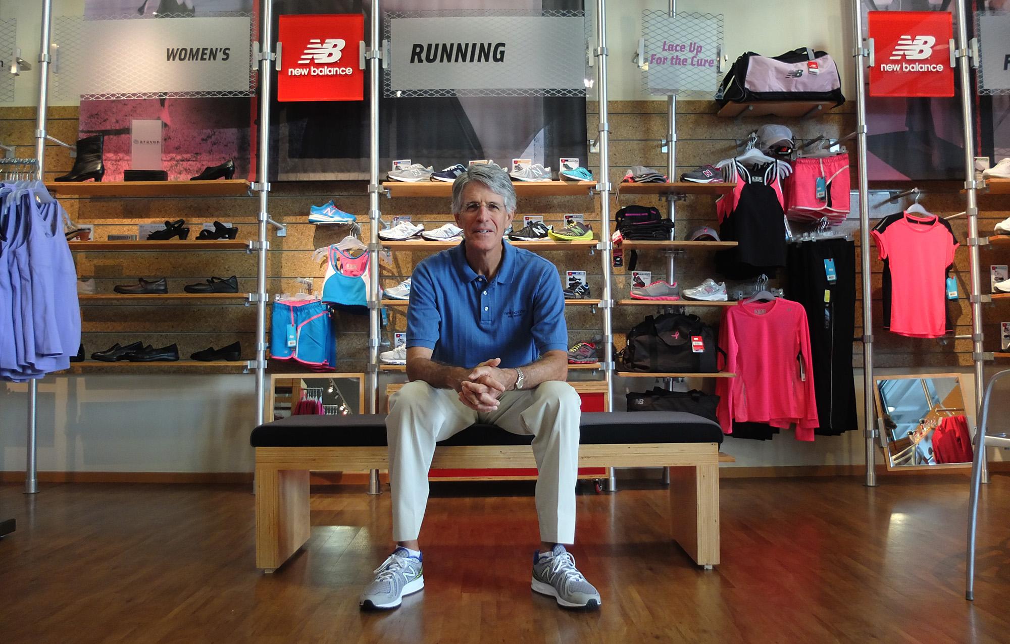 New Balance's sole man in San Antonio
