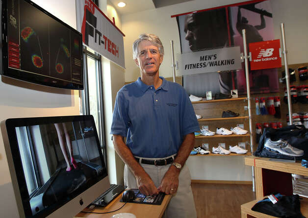 Profile of small business owner Rob Kaufman who owns three New Balance shoe stores in San Antonio on Thursday, Sept. 27, 2012. Photo: Kin Man Hui, SAN ANTONIO EXPRESS-NEWS / ©2012 San Antonio Express-News