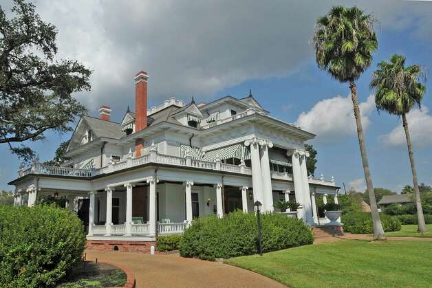 The McFaddin-Ward House was built in 1905-1906. The home is a Beaux-Arts Colonial style dwelling and the McFaddins moved into it in January of 1907. The home reflects the lifestyle of the McFaddins who lived in the home for 75 years.  Dave Ryan/The Enterprise