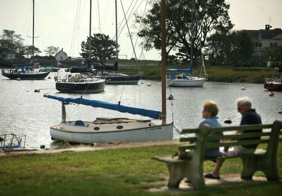 Boats are moored in scenic Southport Harbor on Thursday, September 27, 2012. Photo: Brian A. Pounds / Connecticut Post