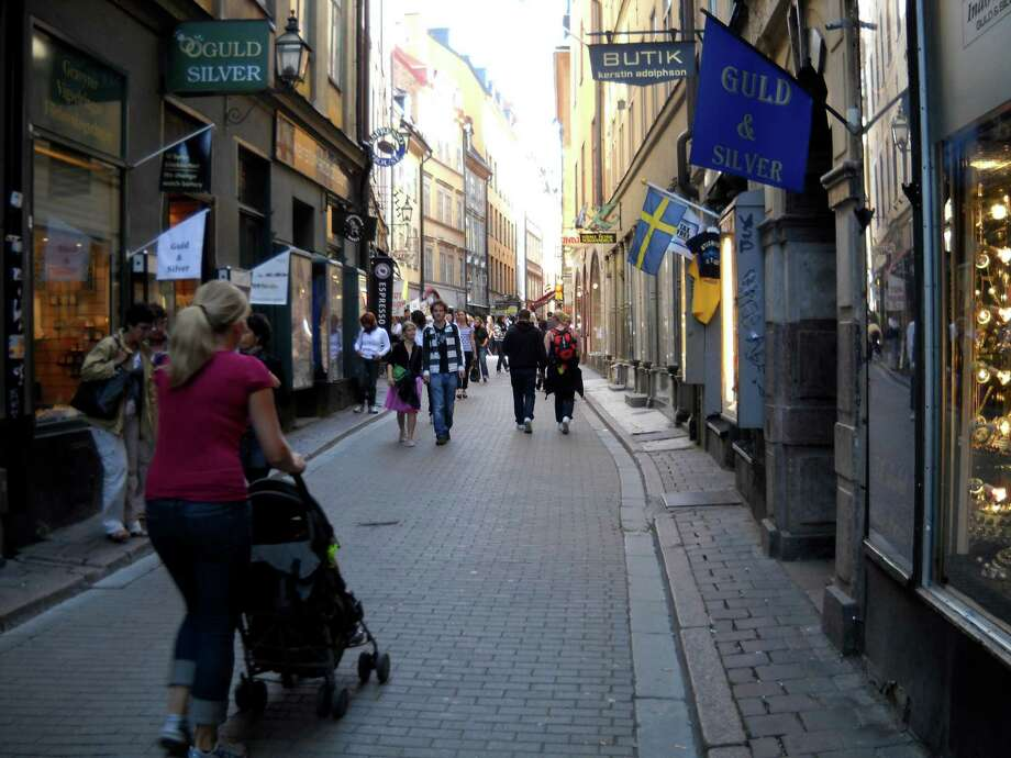Gamla Stan, the oldest part of Stockholm, is popular with tourists and locals alike, given its wide choice of restaurants, its narrow streets and centuries-old architecture.