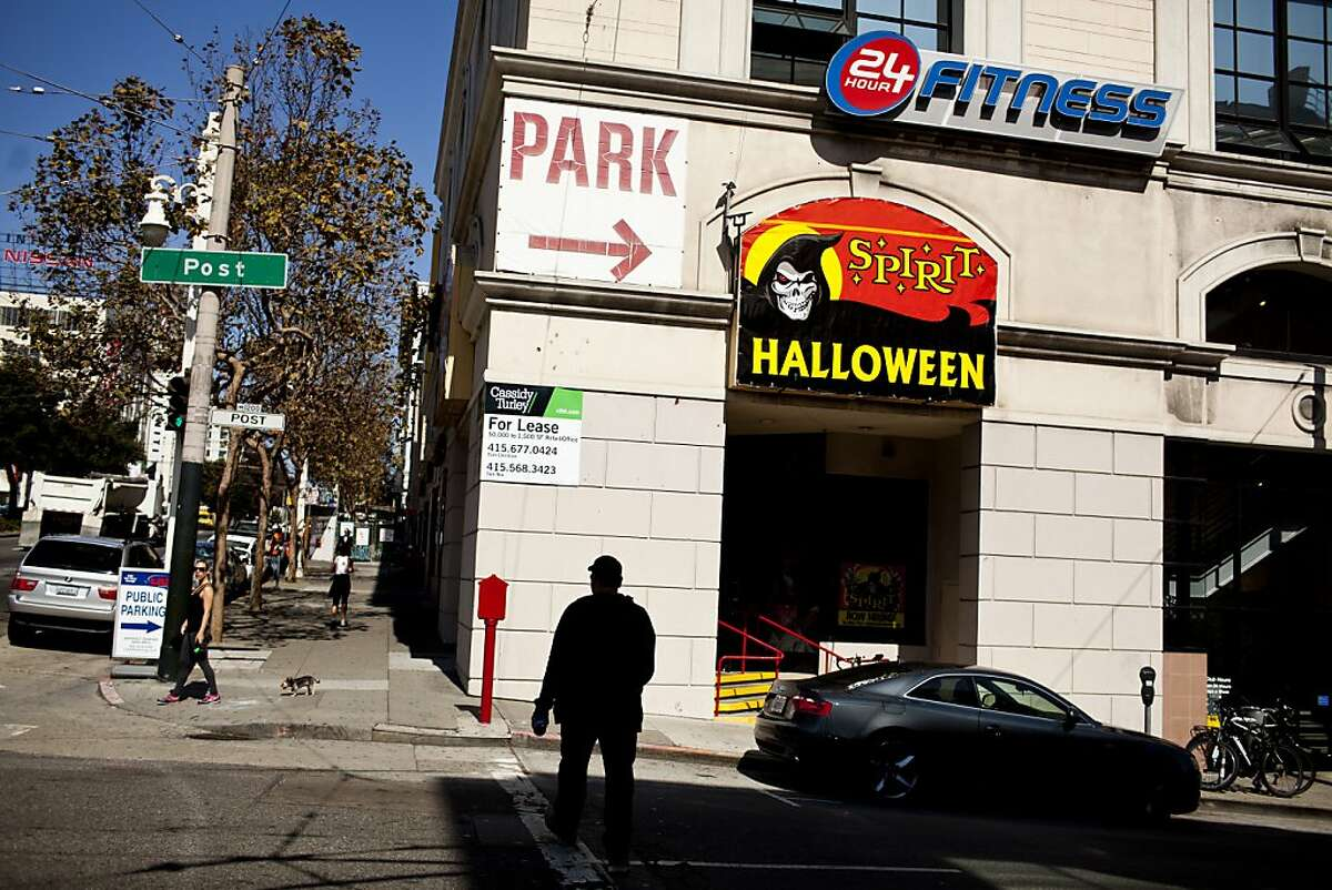 For years Spirit Halloween, a costume retailer, has been able to predict the presidential election by how many candidate masks sell. So far Obama masks are beating Romney masks by a landslide. Here outside Spirit Halloween in San Francisco, Calif., Thursday, September 27, 2012.