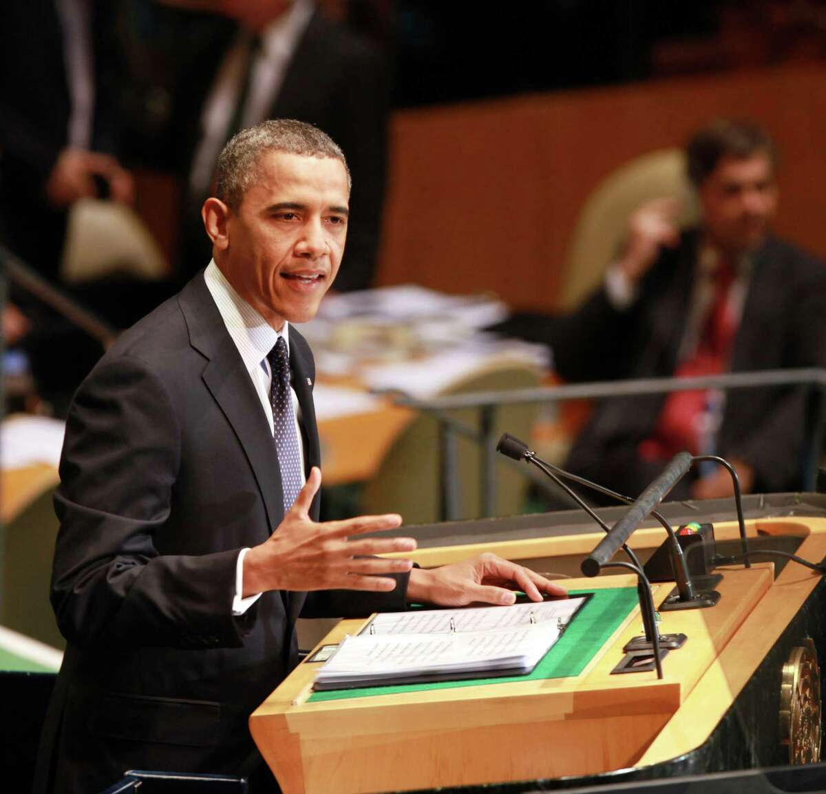 President Barack Obama said amid the protests over an anti-Muslim film that tolerance goes both ways.