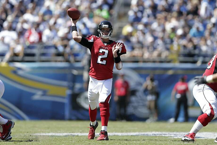 Matt Ryan is bidding to join the 40-10 club. Photo: Gregory Bull, Associated Press
