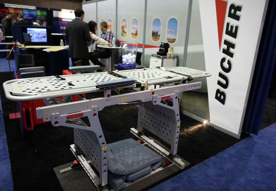 An bed for transporting medical patients by Bucher is shown. Photo: JOSHUA TRUJILLO / SEATTLEPI.COM
