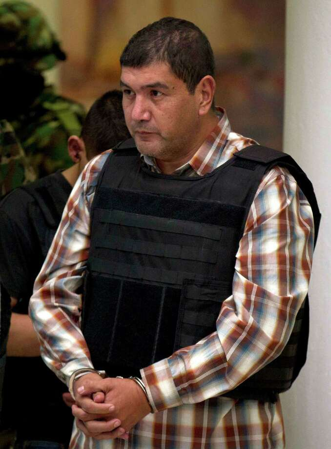 "The alleged renegade leader of a faction of the Zetas, Ivan Velázquez Caballero, known as  ""El Taliban,"" is thought  to be behind killings  in Laredo and Nuevo Laredo. Photo: Eduardo Verdugo, Associated Press / AP"