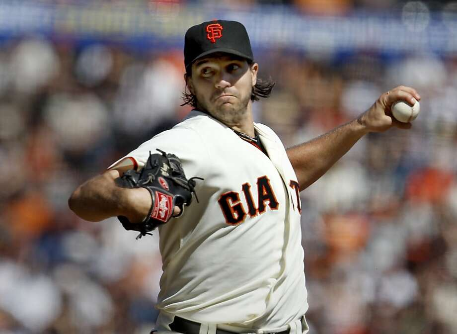 Barry Zito gave up three runs in six innings, improving his record to 14-8. The Giants have won in each of his past 10 starts. Photo: Brant Ward, The Chronicle