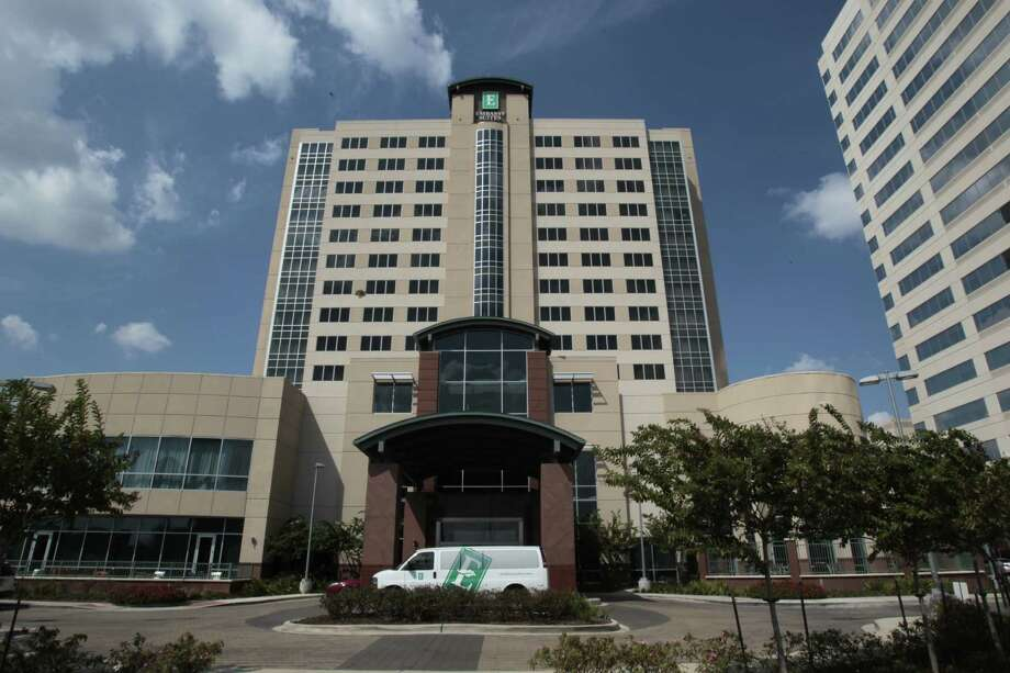 The Hotel & Lodging Association of Greater Houston, which met Thursday at the Embassy Suites at the Katy Freeway and Kirkwood, was told the local hotel industry is recovering much faster than that of the rest of the country. Photo: Billy Smith II / © 2012 Houston Chronicle