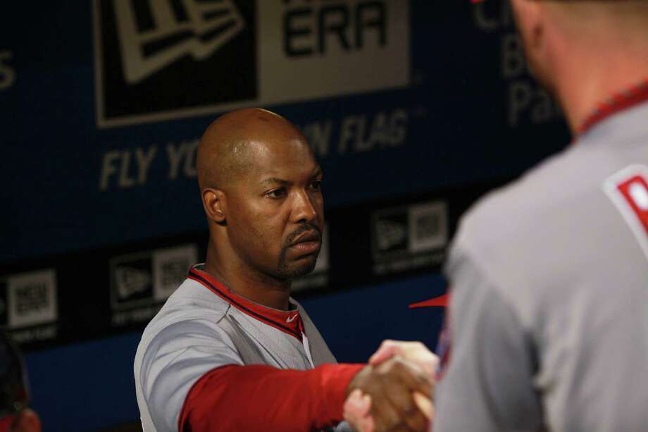 Washington Nationals' third base coach Bo Porter at their game against the Philadelphia Phillies, Thursday, Sept. 27, 2012 in Philadelphia. Photo: DOUGLAS BOVITT, Douglas Bovitt / © 2012 Houston Chronicle