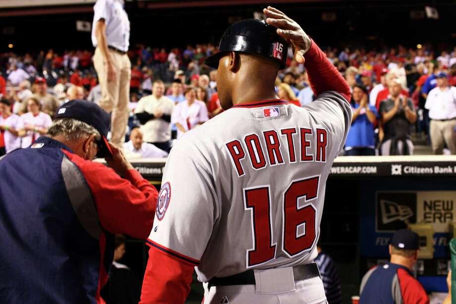 Washington Nationals' third base coach Bo Porter at their game against the Philadelphia Phillies, Thursday, Sept. 27, 2012 in Philadelphia. Photo: DOUGLAS BOVITT, Douglas Bovitt / © 2012 Houston Chronicle